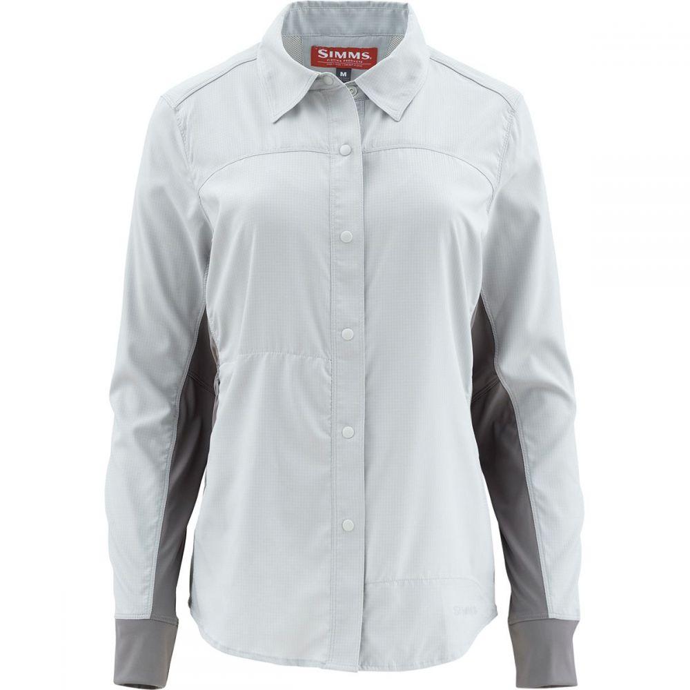 シムズ Simms レディース 釣り・フィッシング トップス【BiComp Long - Sleeve Shirt】Ash