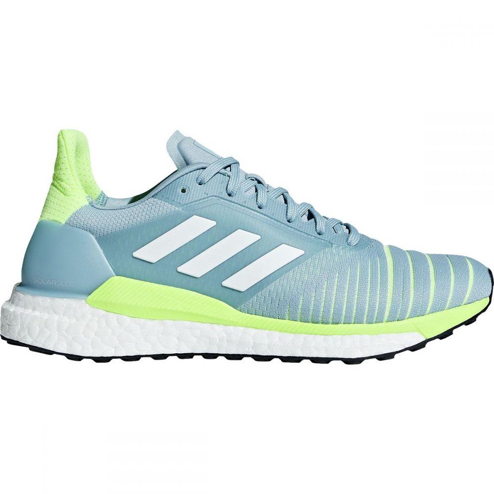 アディダス Adidas レディース ランニング・ウォーキング シューズ・靴【Solar Glide Boost Running Shoe】Ash Grey S18/Footwear White/Hi-res Yellow