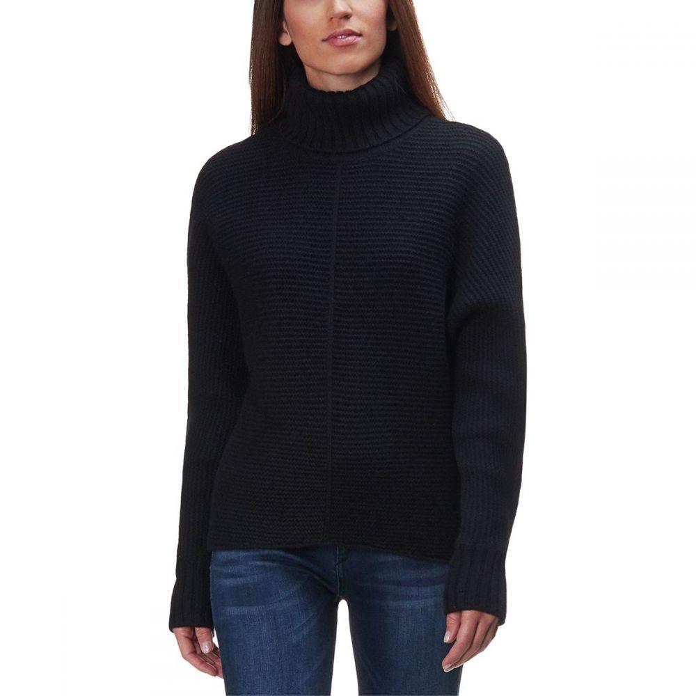 ベイスンアンドレンジ Basin and Range レディース ニット・セーター トップス【Cozy Seedstitch Sweater】Black