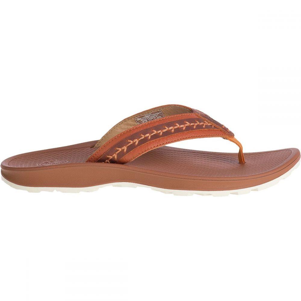 チャコ Chaco レディース ビーチサンダル シューズ・靴【Playa Pro Leather Flip Flop】Spice