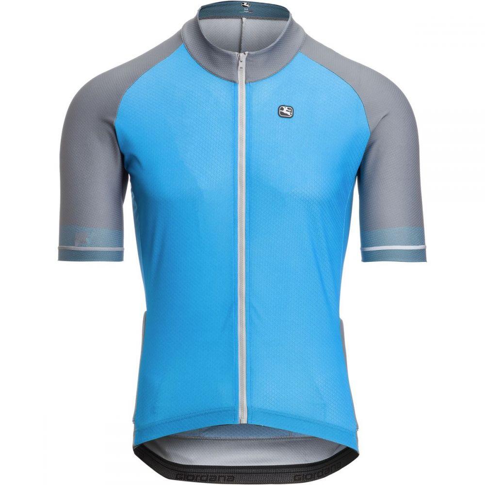 ジョルダーノ Giordana メンズ 自転車 トップス【Lungo Jersey】Blue/Grey