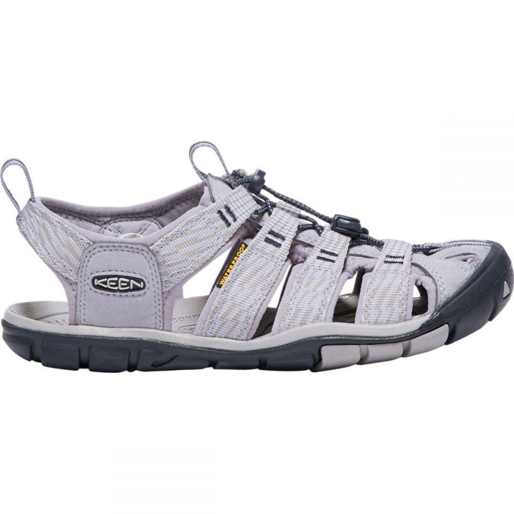 キーン KEEN レディース サンダル・ミュール シューズ・靴【Clearwater CNX Sandal】Dapple Grey/Dress Blue