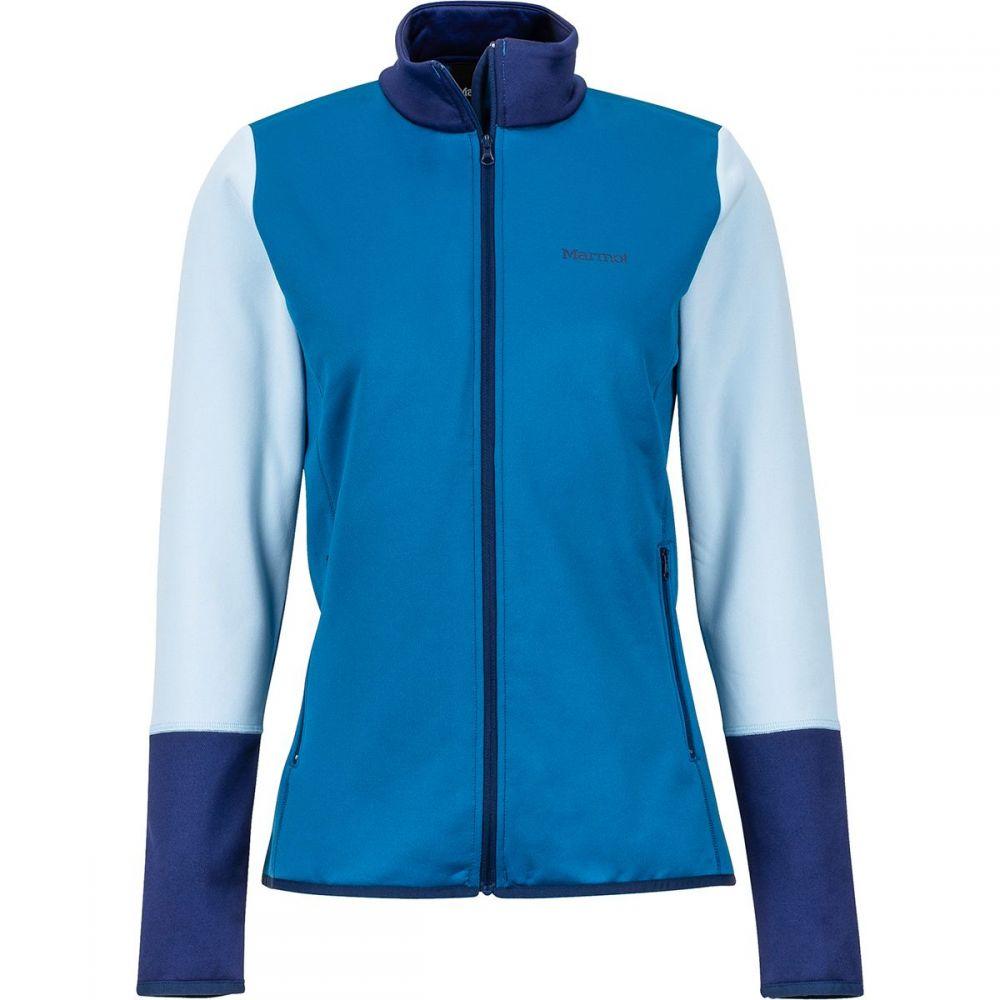 マーモット Marmot レディース フリース トップス【Thirona Fleece Jacket】Sapphire/Arctic Navy