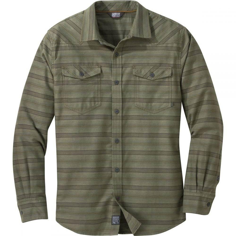 アウトドアリサーチ Outdoor Research メンズ シャツ フランネルシャツ トップス【Pilchuck Long - Sleeve Flannel Shirt】Fatigue