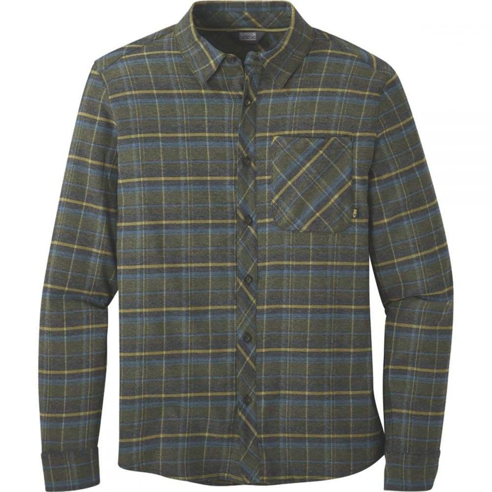 アウトドアリサーチ Outdoor Research メンズ シャツ フランネルシャツ トップス【Kulshan Flannel Shirt】Celestial Blue