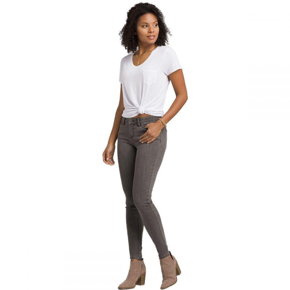 プラーナ Prana レディース ジーンズ・デニム ボトムス・パンツ【London Jean】Grey Denim