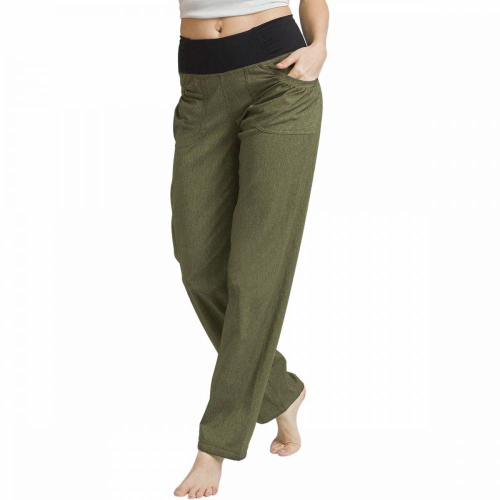プラーナ Prana レディース ボトムス・パンツ 【Summit Pant】Cargo Green Heather
