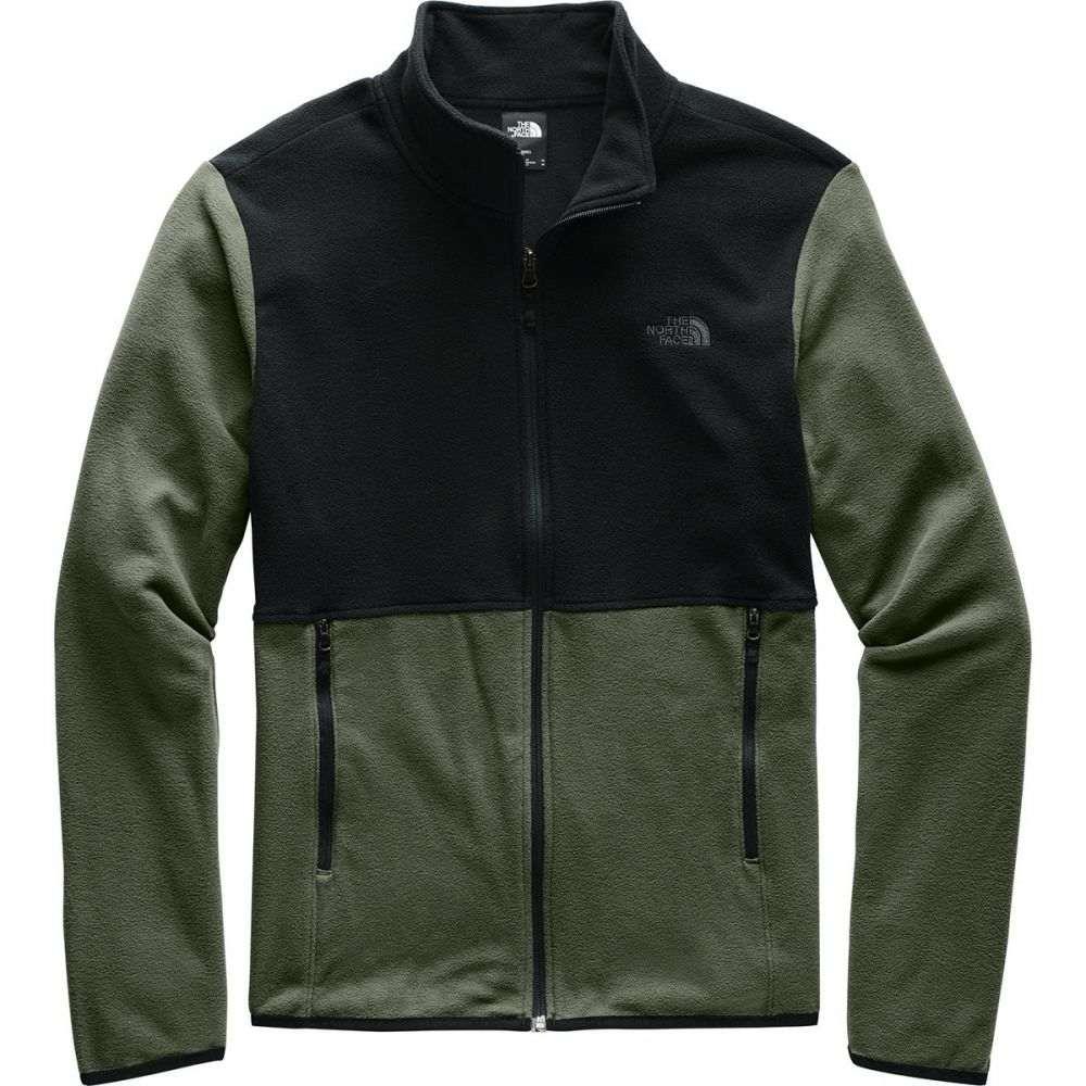 ザ ノースフェイス The North Face メンズ フリース トップス【TKA Glacier Full - Zip Fleece Jacket】New Taupe Green/Tnf Black