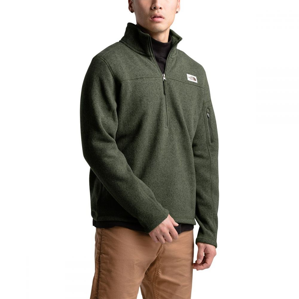 ザ ノースフェイス The North Face メンズ フリース トップス【Gordon Lyons 1/4 - Zip Fleece Pullover】New Taupe Green Heather