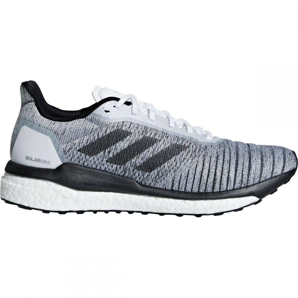 アディダス Adidas メンズ ランニング・ウォーキング シューズ・靴【Solar Drive Running Shoe】Footwear White/Core Black/Grey Three F17