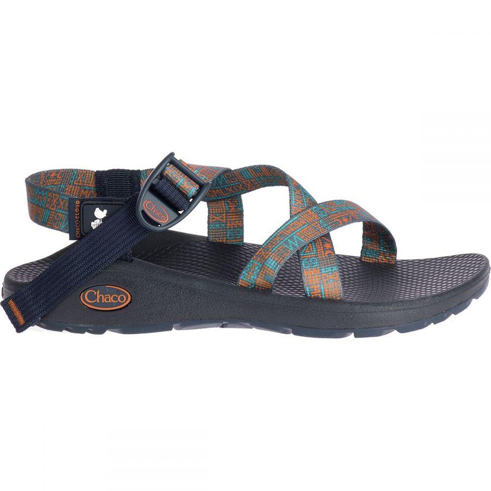 チャコ Chaco レディース サンダル・ミュール シューズ・靴【Woodstock Z/Cloud Sandal】New Native Blue