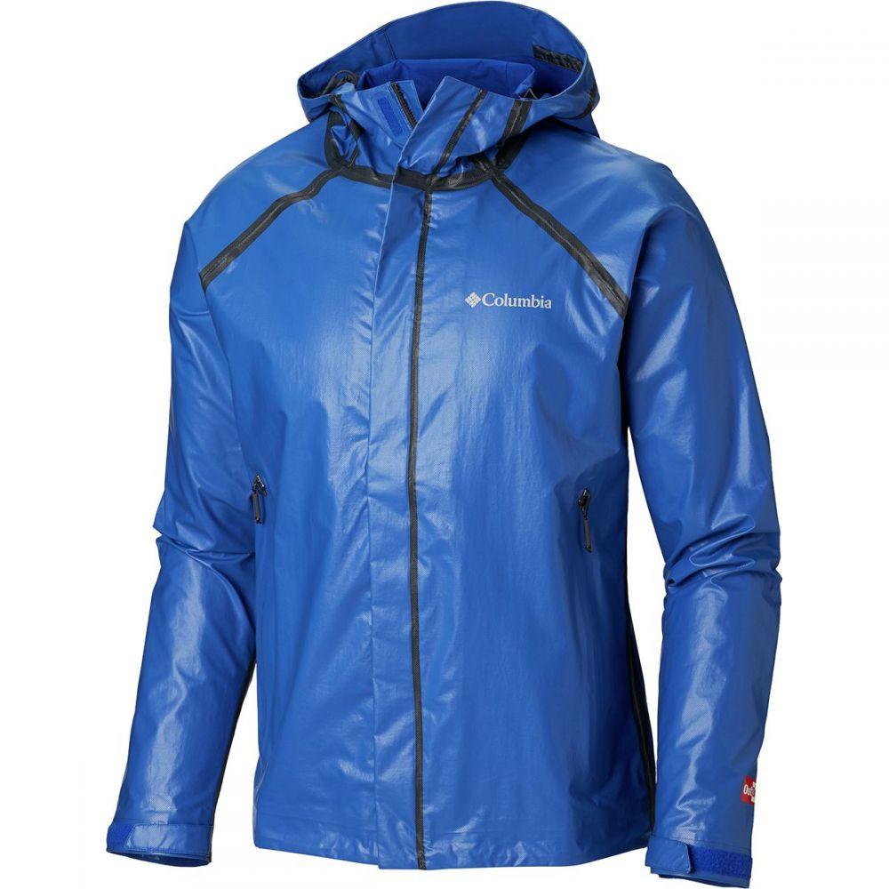 コロンビア Columbia メンズ レインコート アウター【Outdry Ex Blitz Jacket】Azul