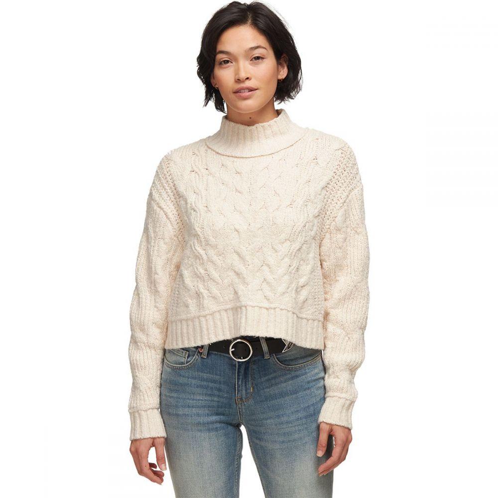 フリーピープル Free People レディース ニット・セーター トップス【Merry Go Round Sweater】Ivory