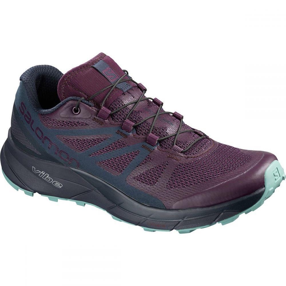 サロモン Salomon レディース ランニング・ウォーキング シューズ・靴【Sense Ride Trail Running Shoe】Potent Purple/Graphite/Navy Blazer