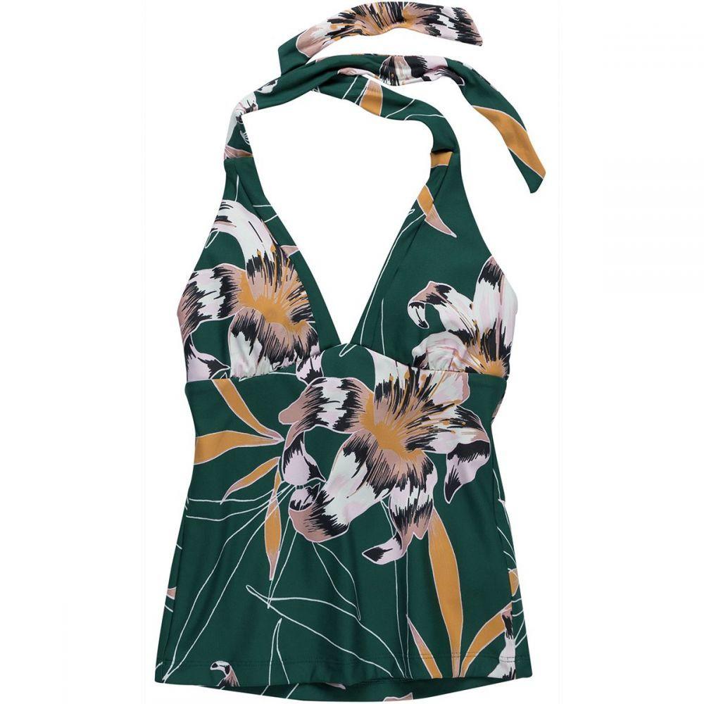 シーフォリー Seafolly レディース トップのみ Vネック 水着・ビーチウェア【Aralia V Neck Singlet Bikini Top】Floral