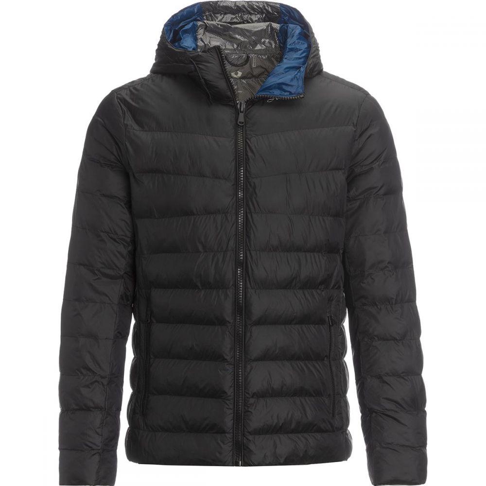 ストイック Stoic メンズ ダウン・中綿ジャケット フード アウター【Hooded Synthetic Insulation Jacket】Black