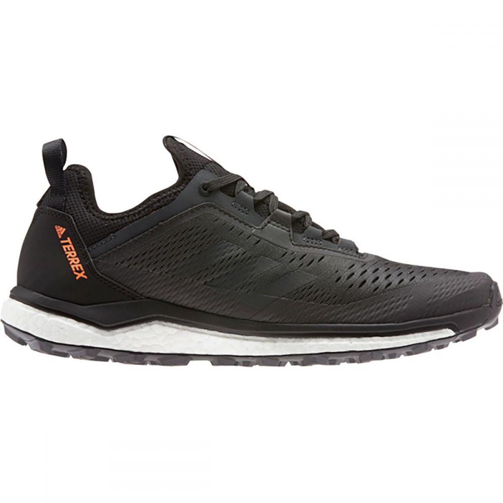 アディダス Adidas Outdoor メンズ ランニング・ウォーキング シューズ・靴【Terrex Agravic Flow Trail Running Shoe】Black/Grey Six/Solar Orange
