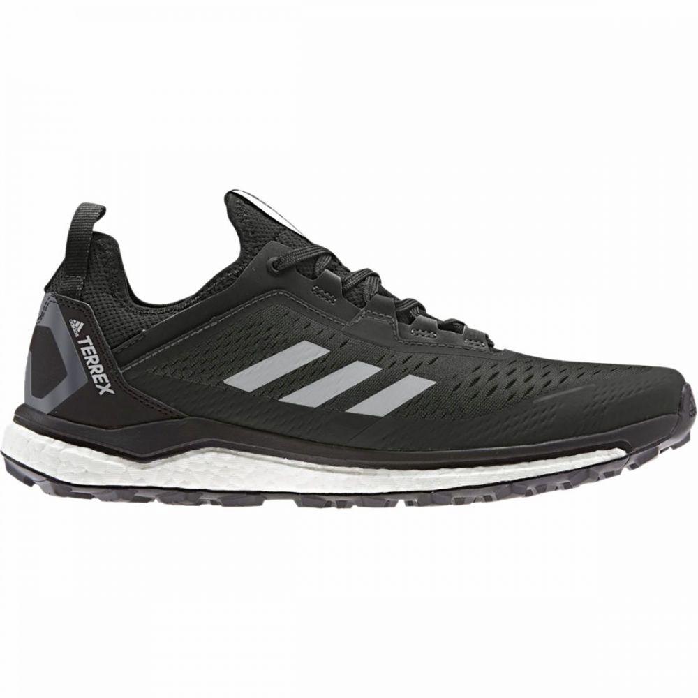 アディダス Adidas Outdoor メンズ ランニング・ウォーキング シューズ・靴【Terrex Agravic Flow Trail Running Shoe】Grey Two/Black/Grey Two
