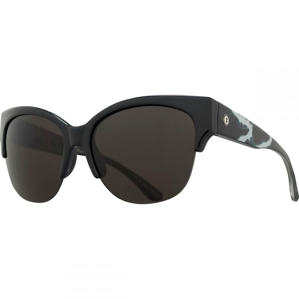 エレクトリック Electric レディース スポーツサングラス 【Danger Cat Pro Polarized Sunglasses】Electic X Rose-Polar Grey Plus