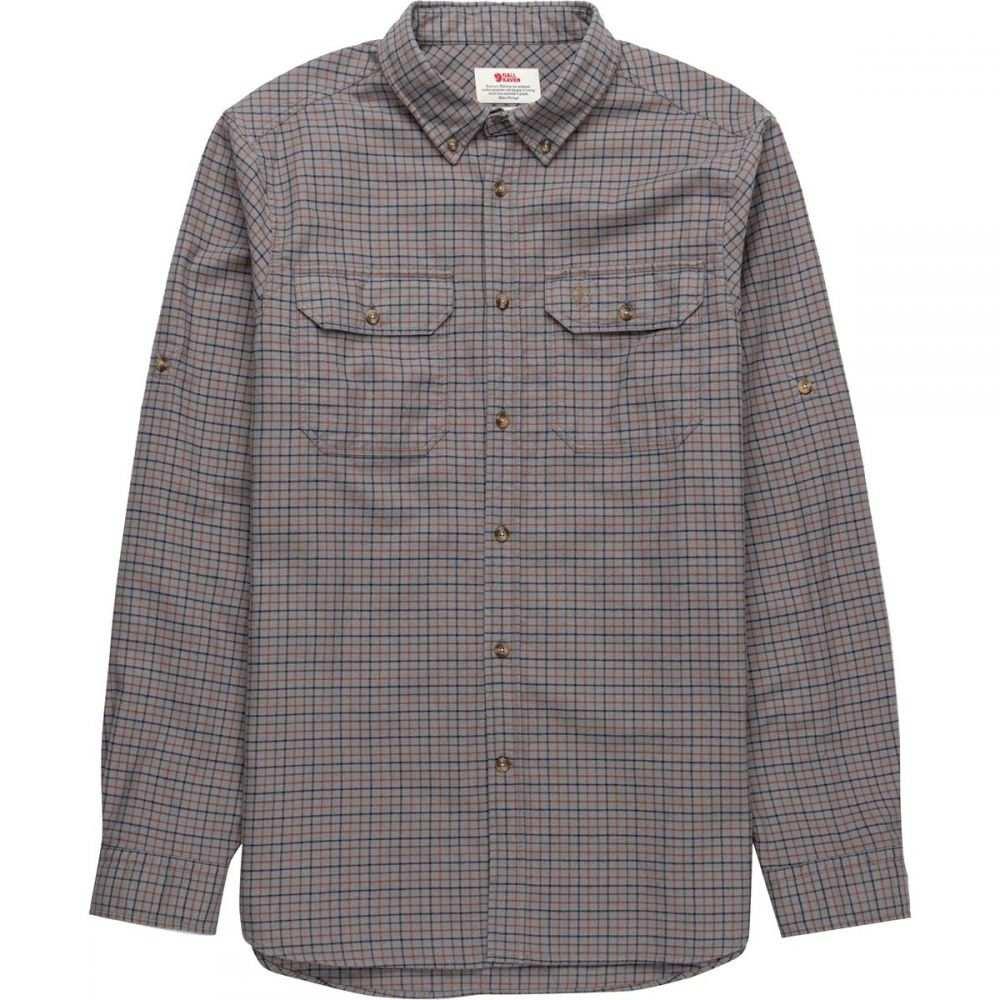 フェールラーベン Fjallraven メンズ シャツ フランネルシャツ トップス【Forest Flannel Long - Sleeve Shirt】Grey