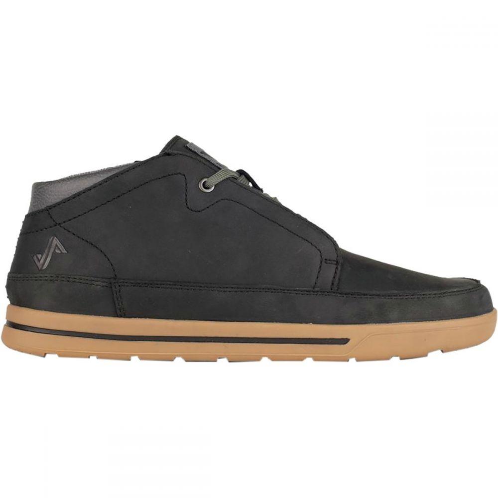 フォーセイク Forsake メンズ スニーカー チャッカブーツ シューズ・靴【Phil Chukka Shoe】Black