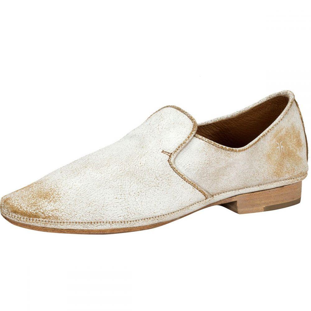 フライ Frye レディース スリッポン・フラット シューズ・靴【Ashley Slip On Shoe】White