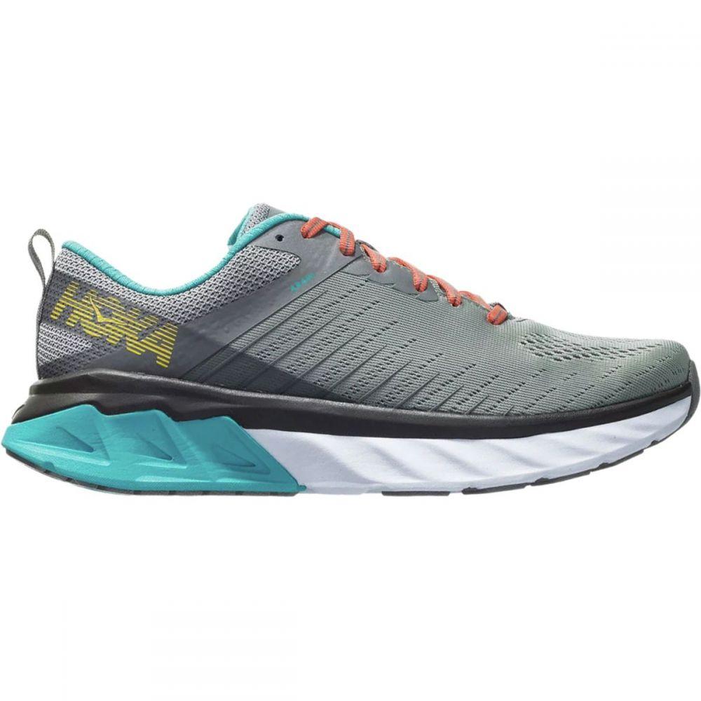 ホカ オネオネ HOKA ONE ONE レディース ランニング・ウォーキング シューズ・靴【Arahi 3 Running Shoe】Frost Gray/Scuba Blue