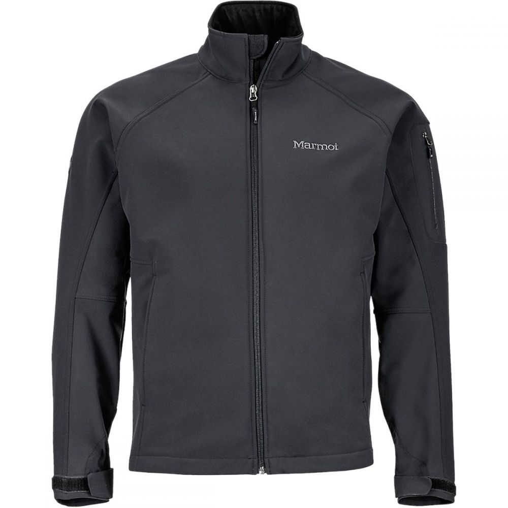 マーモット Marmot メンズ ジャケット ソフトシェルジャケット アウター【Gravity Softshell Jacket】Black