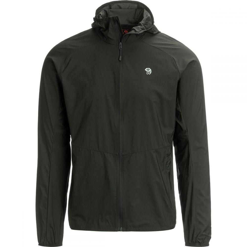 マウンテンハードウェア Mountain Hardwear メンズ ジャケット フード アウター【Kor Preshell Hooded Jacket】Void