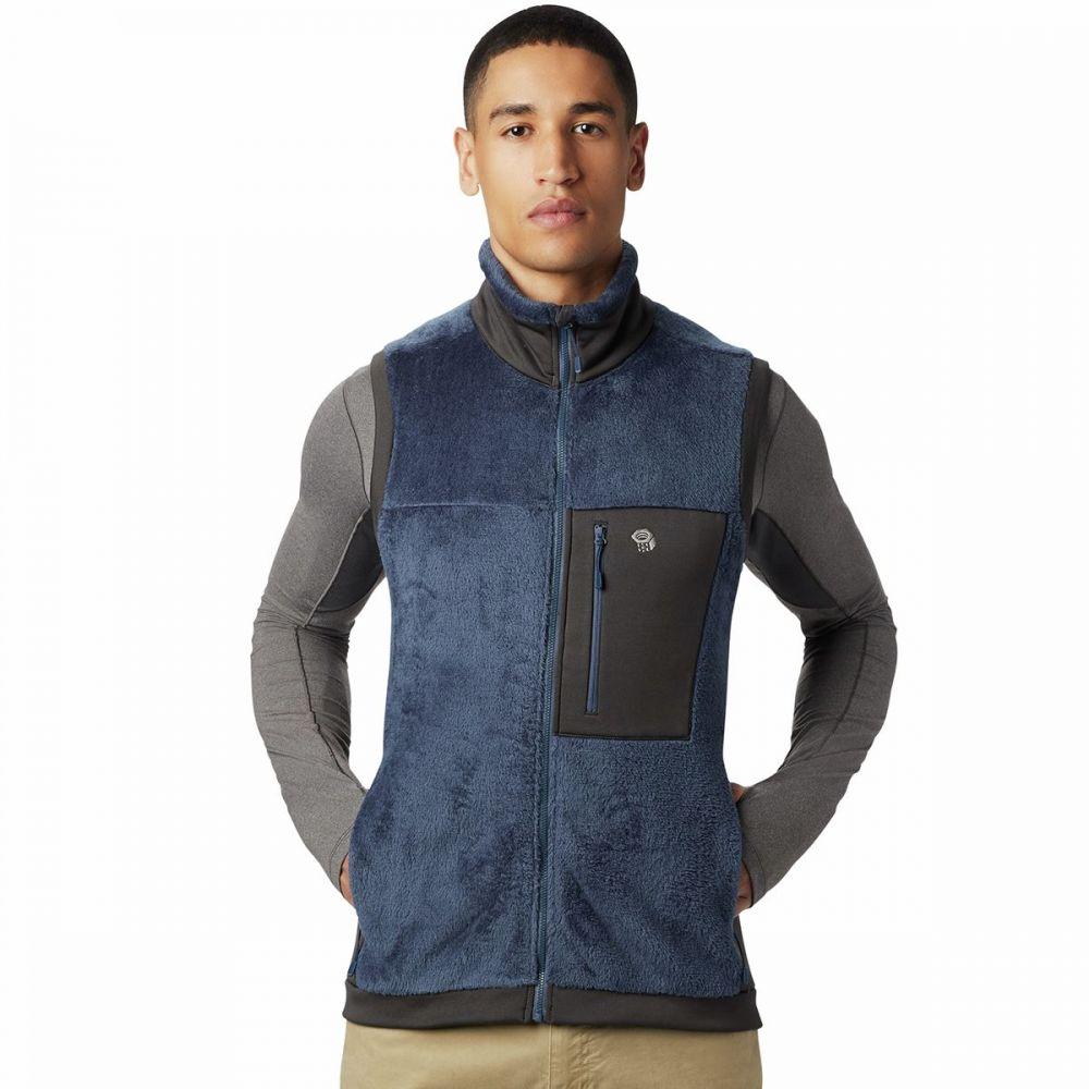 マウンテンハードウェア Mountain Hardwear メンズ ベスト・ジレ トップス【Monkey Man 2 Fleece Vest】Zinc