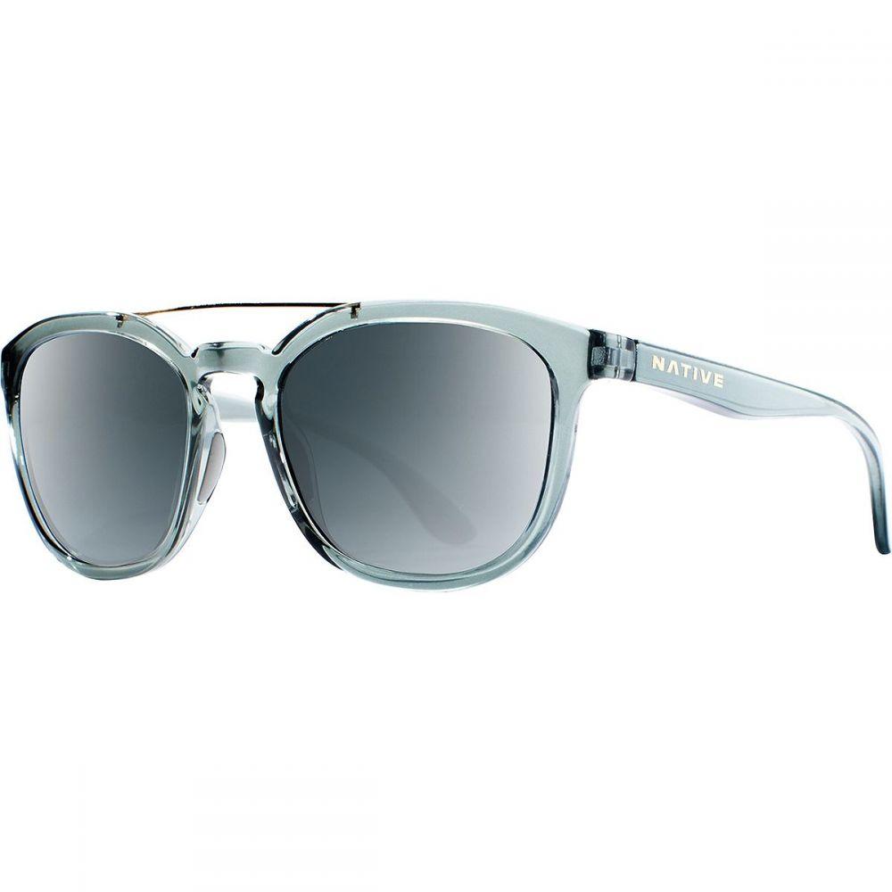 ネイティブアイウェア Native Eyewear レディース メガネ・サングラス 【Sixty - Six Polarized Sunglasses】Dark Crystal Gray-Gray