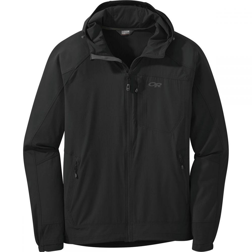 アウトドアリサーチ Outdoor Research メンズ ジャケット フード アウター【Ferrosi Hooded Jacket】Black