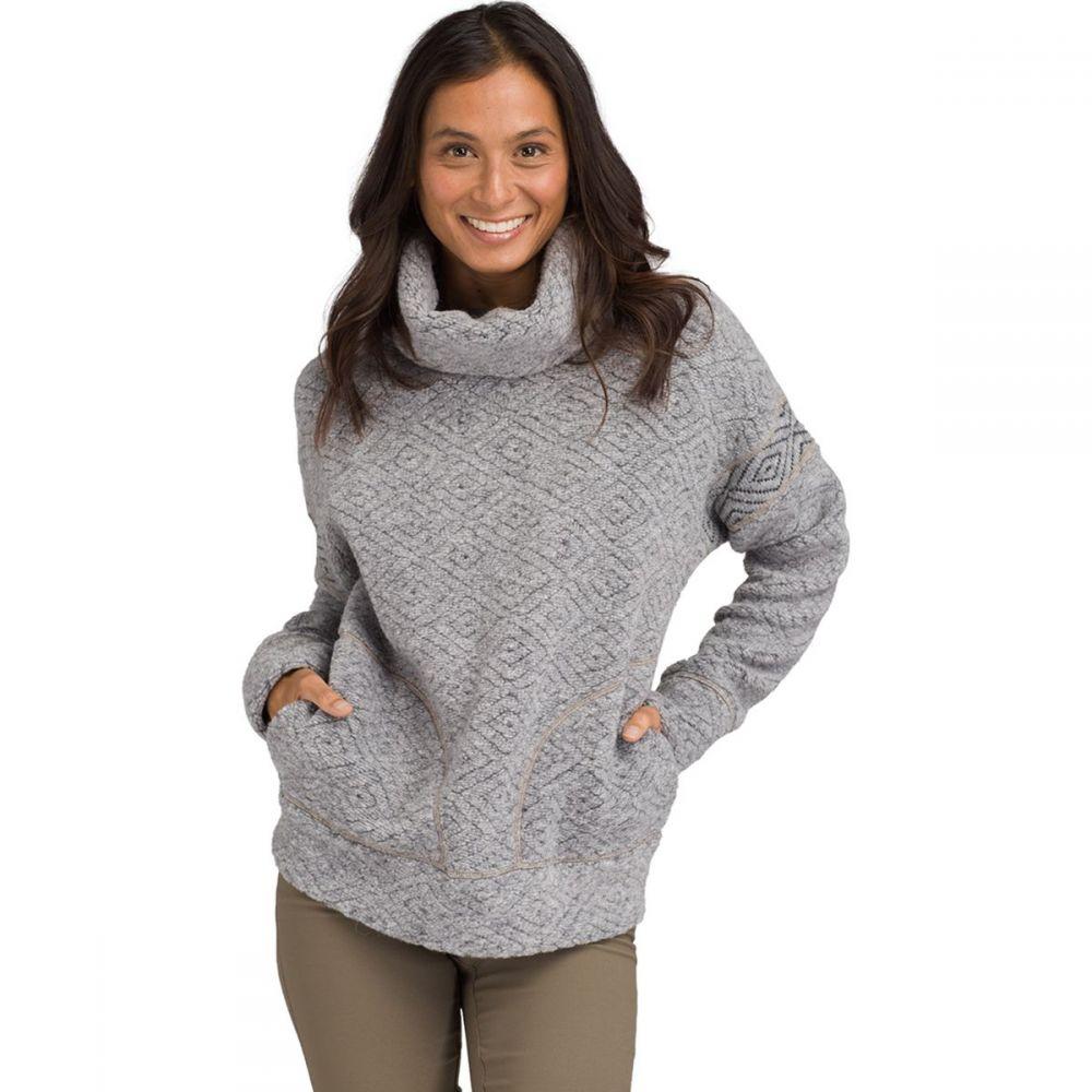プラーナ Prana レディース ニット・セーター トップス【Crestland Pullover Sweater】Heather Grey