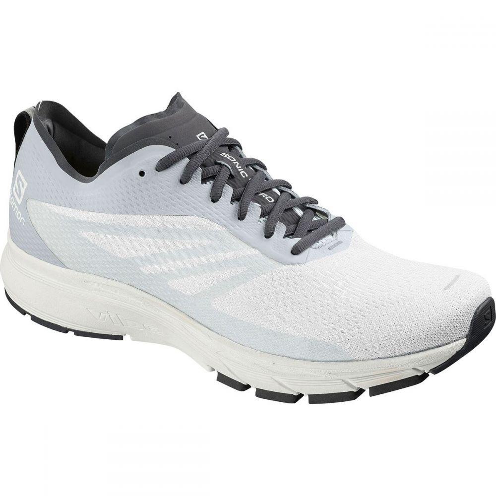 サロモン Salomon メンズ ランニング・ウォーキング シューズ・靴【Sonic RA Pro 2 Running Shoe】White/Pearl Blue/Ebony