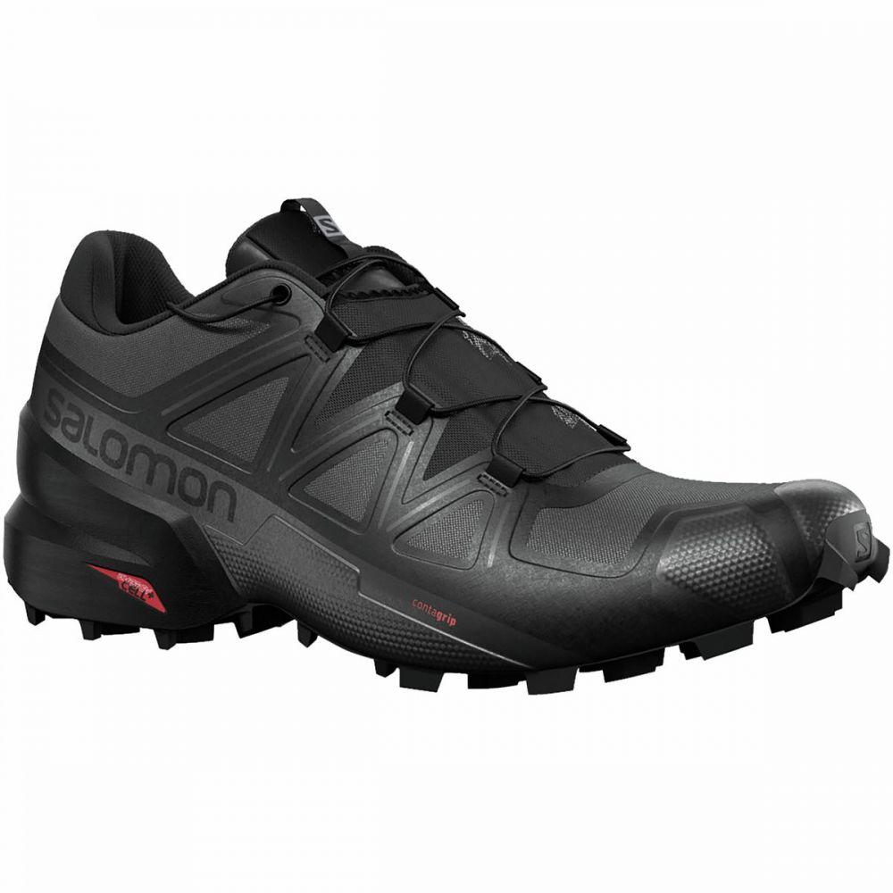 サロモン Salomon メンズ ランニング・ウォーキング シューズ・靴【Speedcross 5 Trail Running Shoe】Black/Black/Phantom