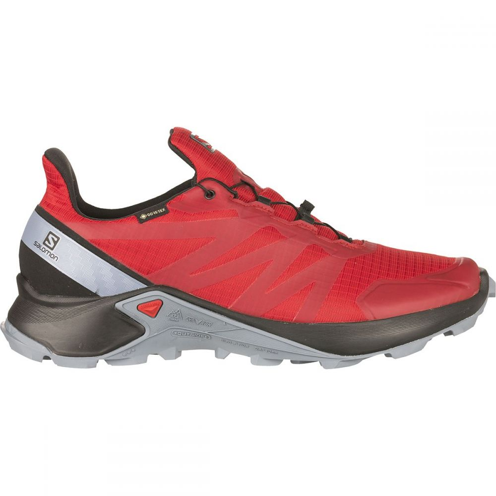 サロモン Salomon メンズ ランニング・ウォーキング シューズ・靴【Supercross GTX Trail Running Shoe】Barbados Cherry/Black/Flint Stone
