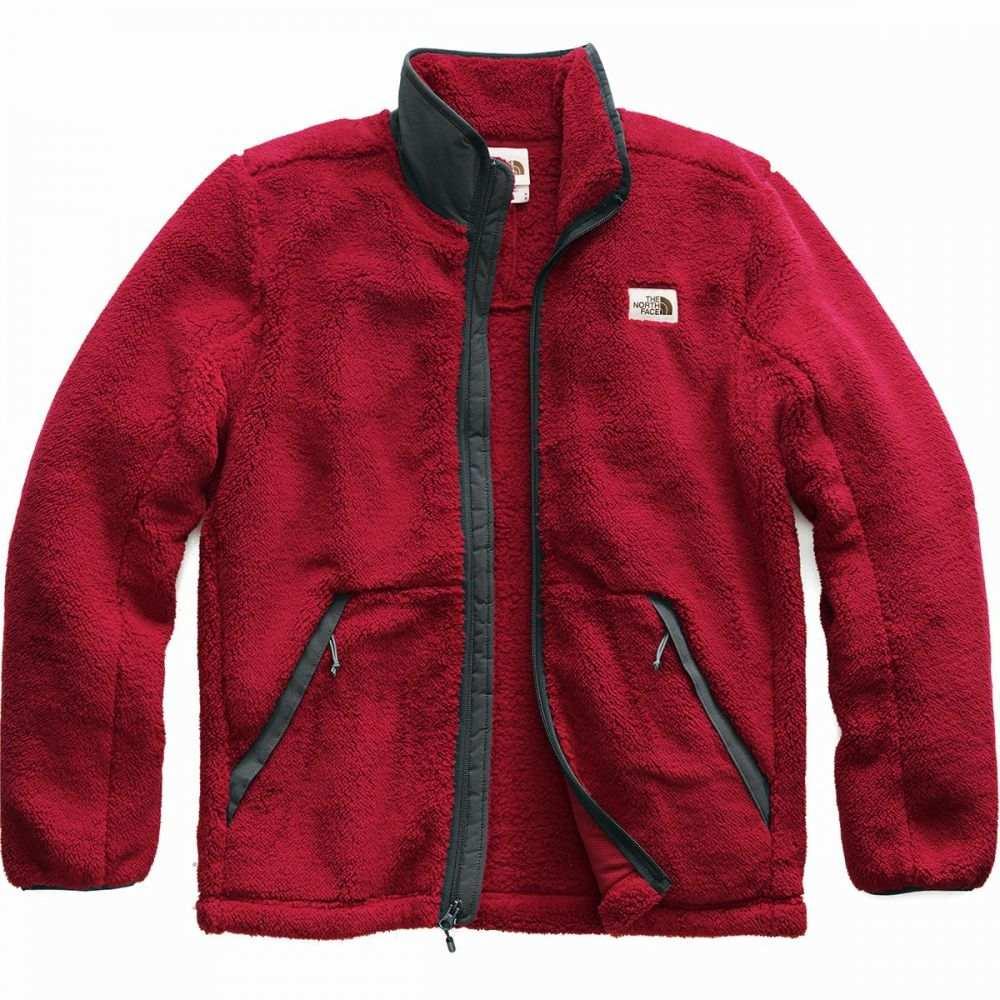 ザ ノースフェイス The North Face メンズ フリース トップス【Campshire Full - Zip Fleece Jacket】Cardinal Red/Asphalt Grey