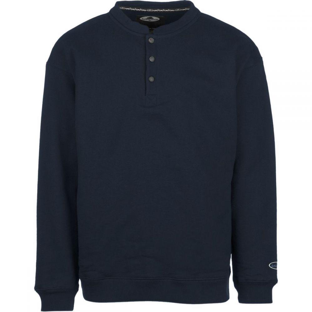 アーバーウェア Arborwear メンズ スウェット・トレーナー トップス【Double Thick Crew Sweatshirt】Navy