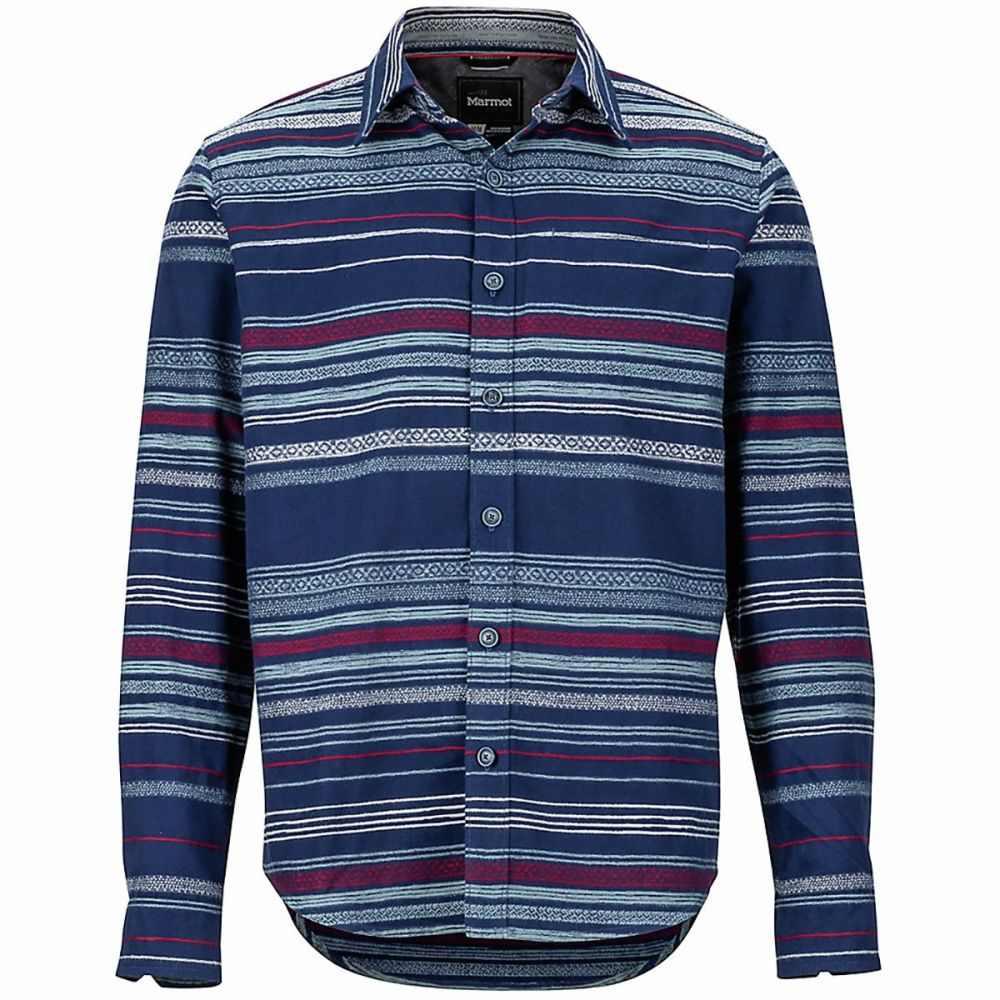 マーモット Marmot メンズ シャツ フランネルシャツ トップス【Keystone Heavyweight Flannel Long - Sleeve Shirt】Arctic Navy