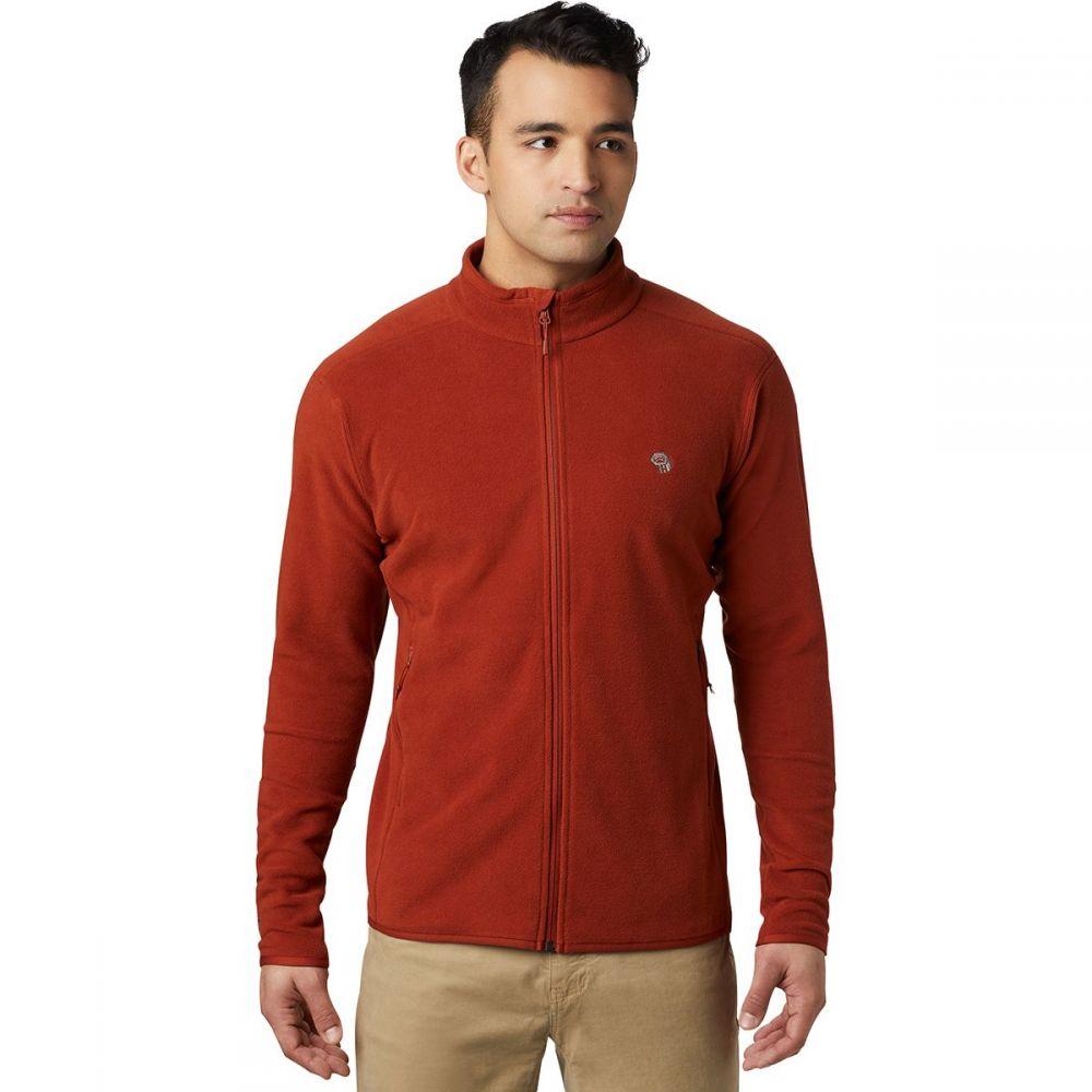 マウンテンハードウェア Mountain Hardwear メンズ フリース トップス【Macrochill Full - Zip Fleece Jacket】Rusted
