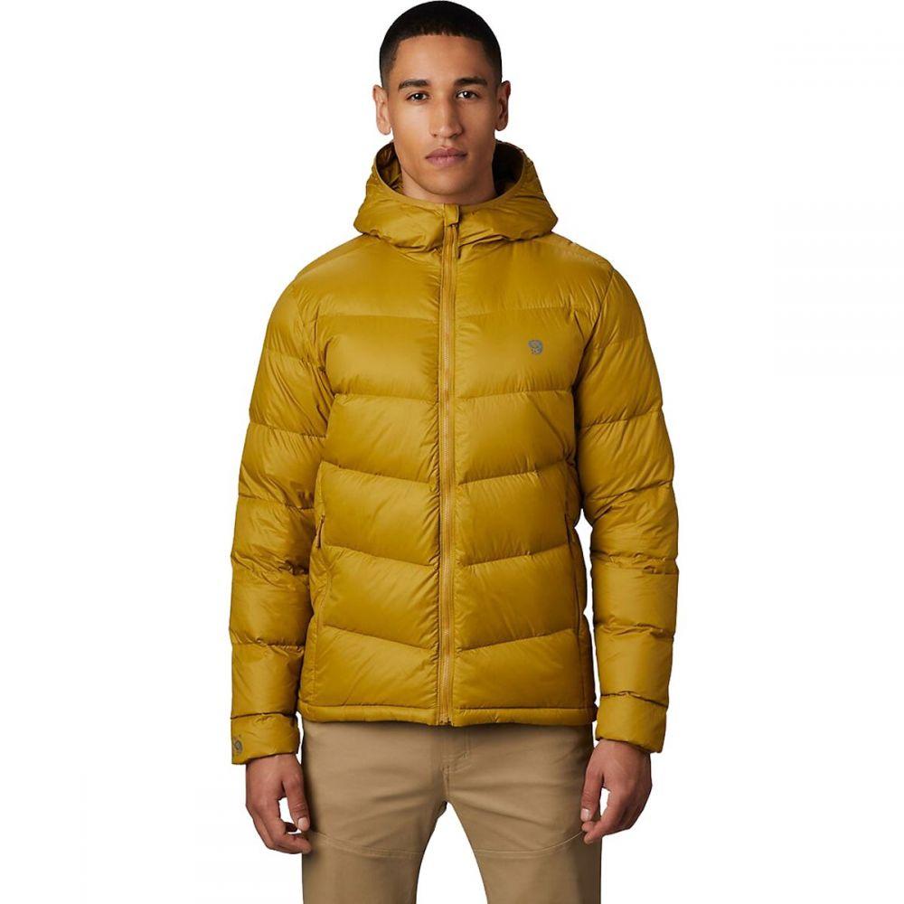 マウンテンハードウェア Mountain Hardwear メンズ ダウン・中綿ジャケット フード アウター【Mt. Eyak Down Hooded Jacket】Dark Bolt