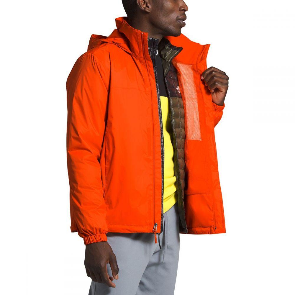 ザ ノースフェイス The North Face メンズ レインコート フード アウター【Resolve 2 Hooded Jacket】Persian Orange