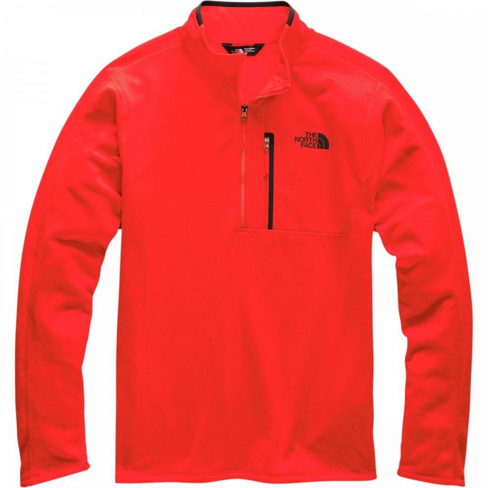 ザ ノースフェイス The North Face メンズ フリース ハーフジップ トップス【Canyonlands 1/2 - Zip Pullover Fleece Jacket】Fiery Red