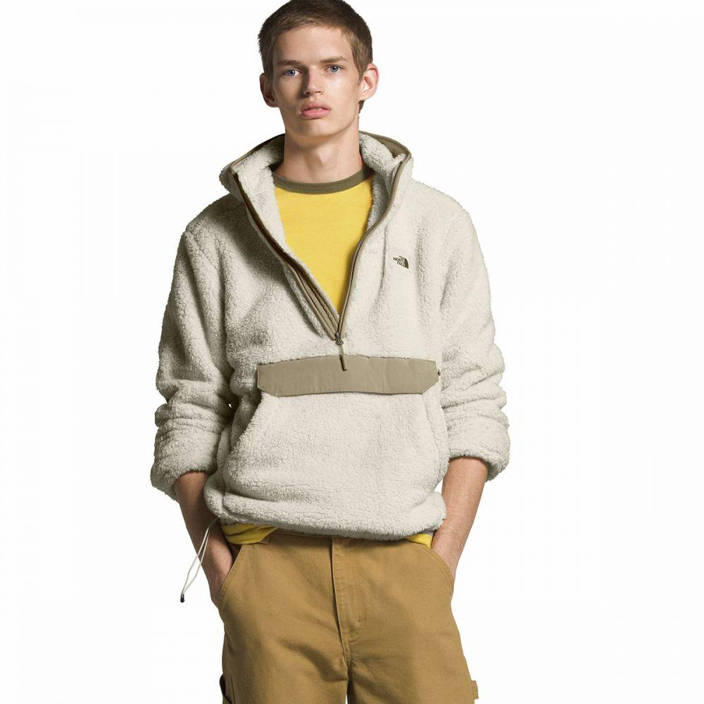 ザ ノースフェイス The North Face メンズ ジャケット アウター【Campshire Hooded Pullover Hoodie】Vintage White/Twill Beige