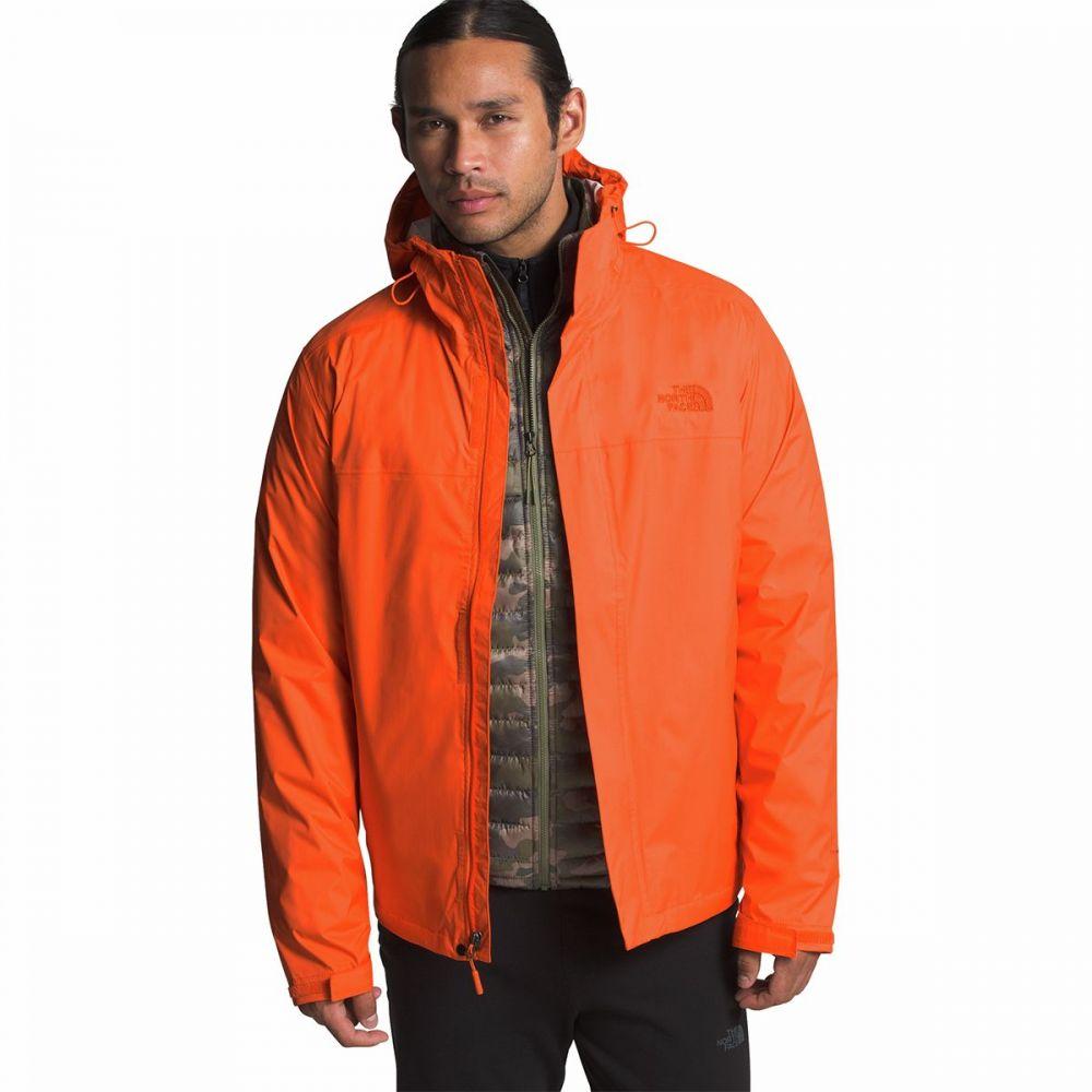 ザ ノースフェイス The North Face メンズ レインコート フード アウター【Venture 2 Hooded Jacket】Persian Orange