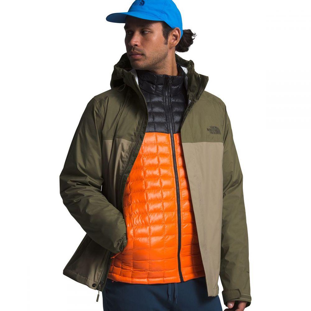 ザ ノースフェイス The North Face メンズ レインコート フード アウター【Venture 2 Hooded Jacket】Twill Beige/Burnt Olive Green