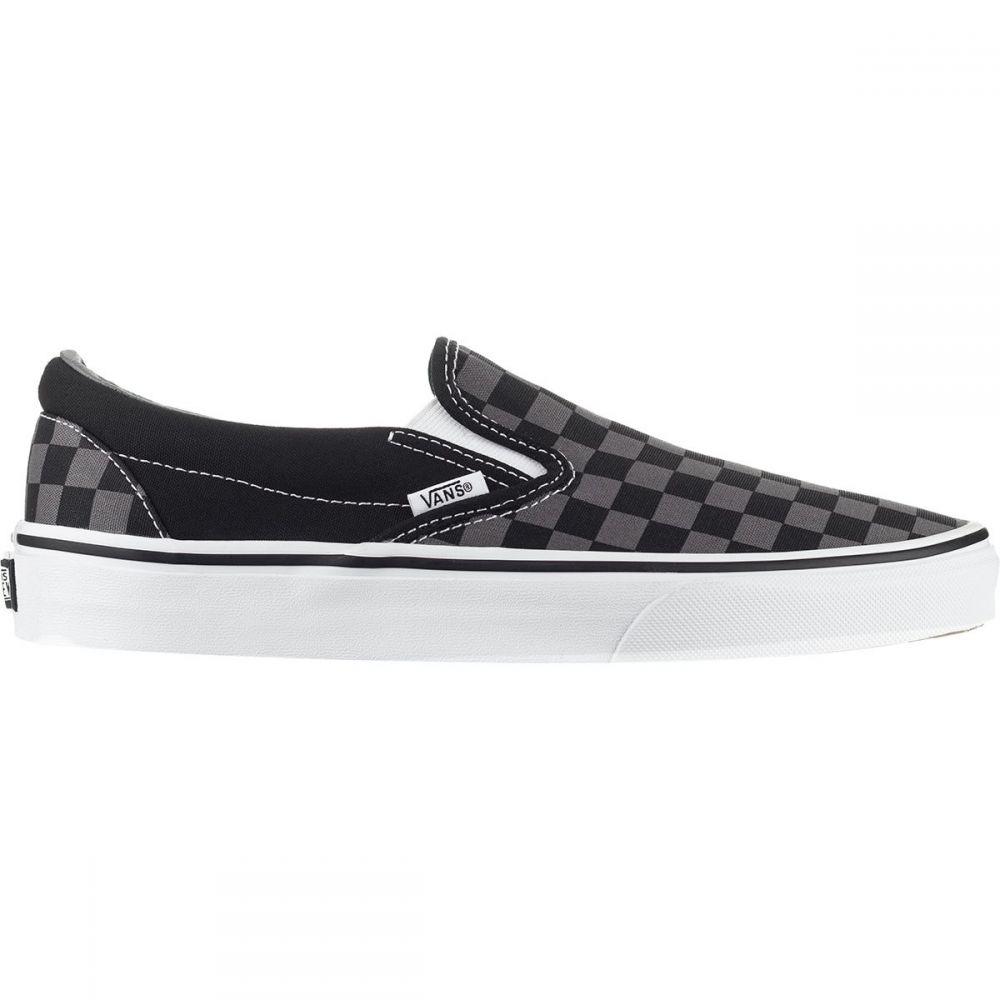 ヴァンズ Vans メンズ スリッポン・フラット シューズ・靴【Classic Slip - On Shoe】Black/Pewter Checkerboard