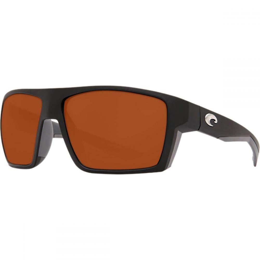 コスタ Costa メンズ メガネ・サングラス 【Bloke 580G Polarized Sunglasses】Matte Black/Matte Gray Frame/Copper