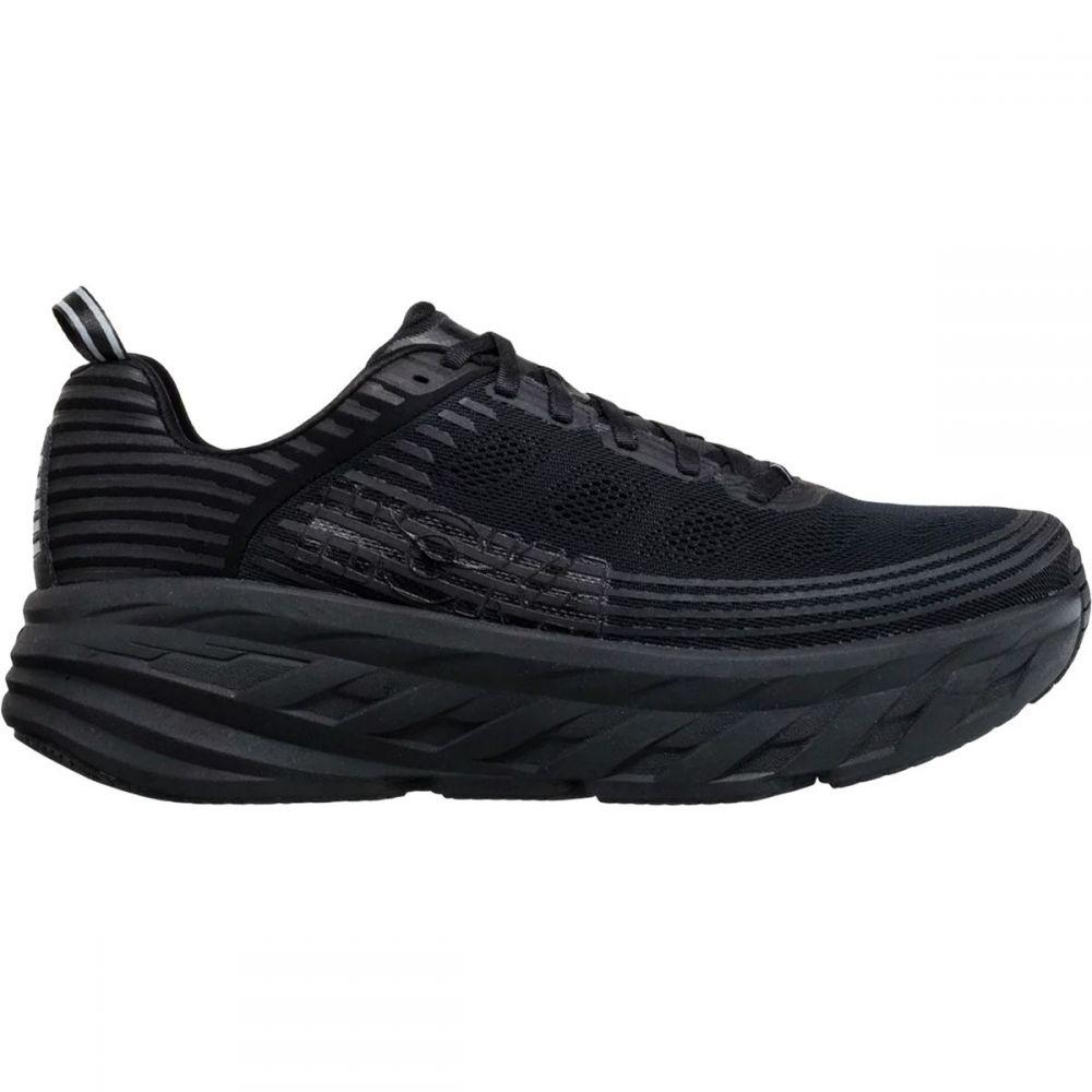ホカ オネオネ HOKA ONE ONE メンズ ランニング・ウォーキング シューズ・靴【Bondi 6 Running Shoe】Black/Black