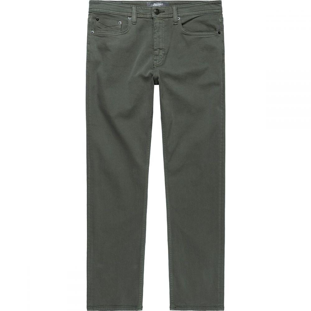 REVTOWN メンズ ジーンズ・デニム ボトムス・パンツ【Sharp Slim Fit Stretch Jeans】Bunker Green
